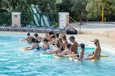 Waterpark aquagym Animatie