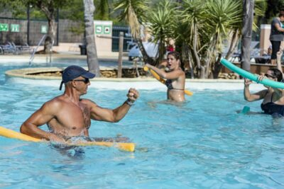 Aquagym zwembad Vrije tijd Sport Vakanties