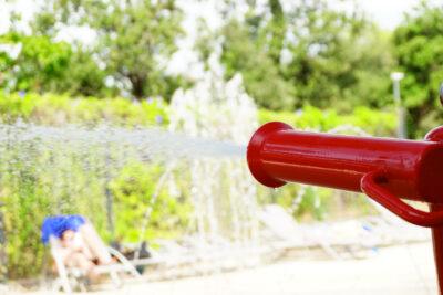 Waterspelletjes zwembaden Kindervakanties