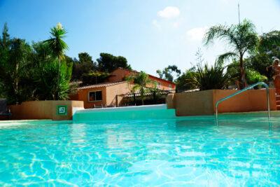 Waterpark verwarmd zwembad Vakantie zon