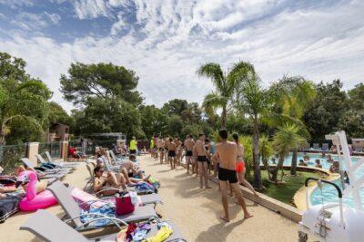 Bormes-les-Mimosas Aquatic complex verwarmde zwembaden Vakantie