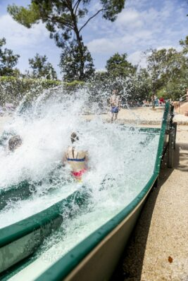 Lavandou Watersportgebied zwembad kinderzwembad glijbaan kinderen animatie