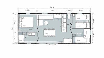 Concept villa op 4-sterrencamping - Var