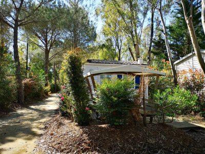 Stacaravan verhuur Zuid Frankrijk eenvoud confort voordelig