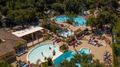 4 zwembaden, glijbanen en waterspelen vlakbij Hyères en La Londe