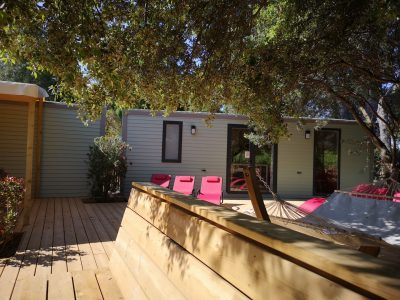 Vakantie camping tot 10 personen - Villa spa – stranden van Hyères