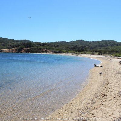 Het strand 'Langoustier' (Porquerolles)