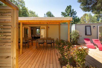 Villa terras - grote familie - camping Var