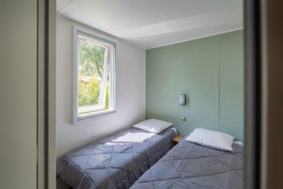 Tweepersoons slaapkamer - vakantievilla - camping Var