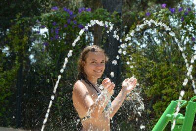 Waterpark waterspelen camping sud de la France
