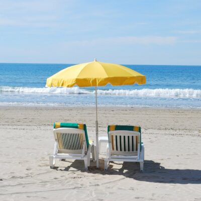Het strand van La Pointe de Gouron in Bormes-les-Mimosas, fijn zand en de zon van de Var